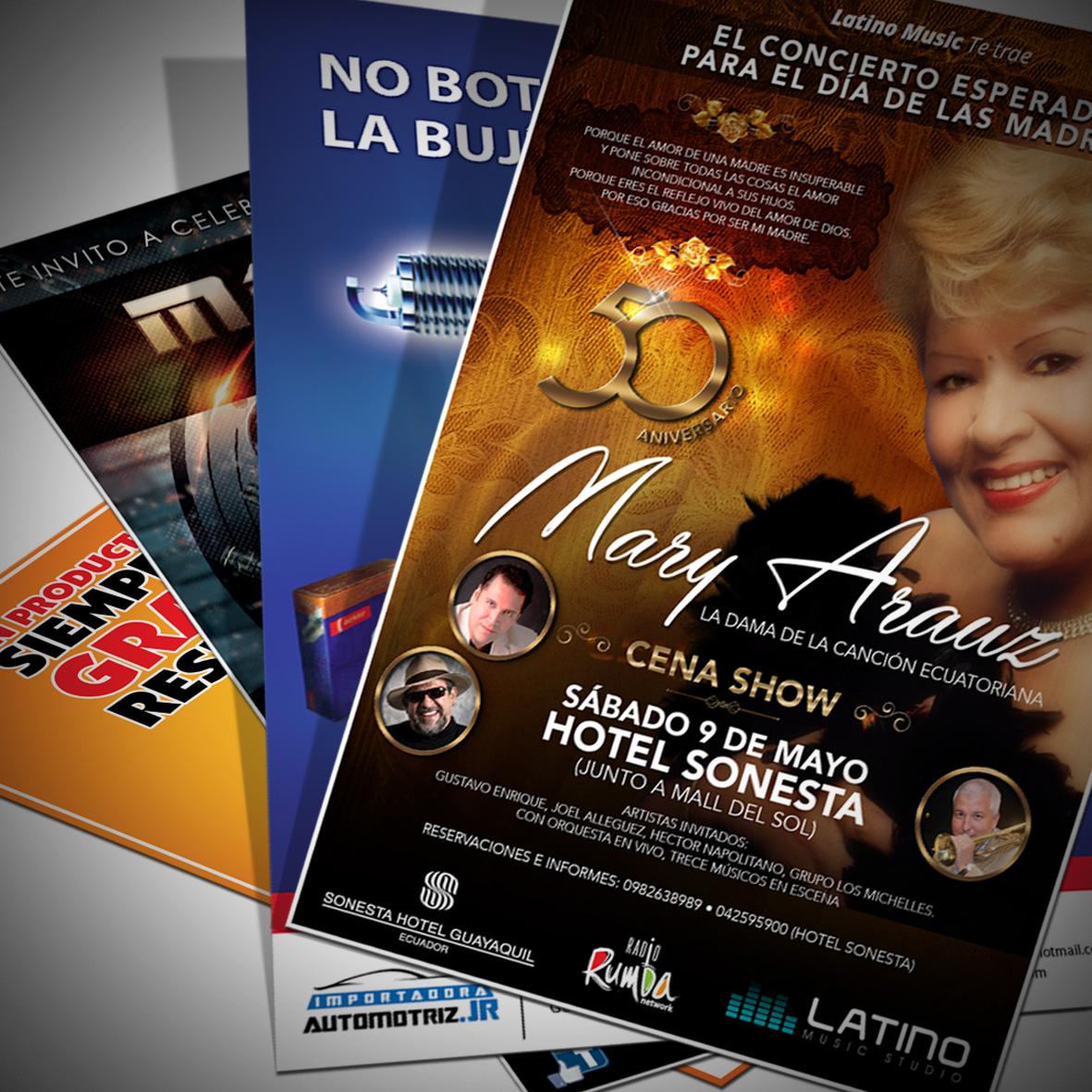 Afiches Publicitarios