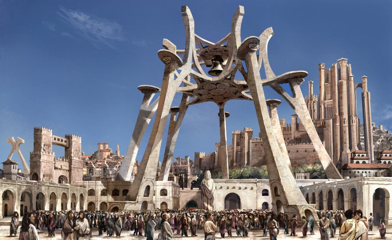 Desembarco del Rey Temporadas 1 y 2 - 30 imágenes de Concept Art de Juego de Tronos Sorprendentes