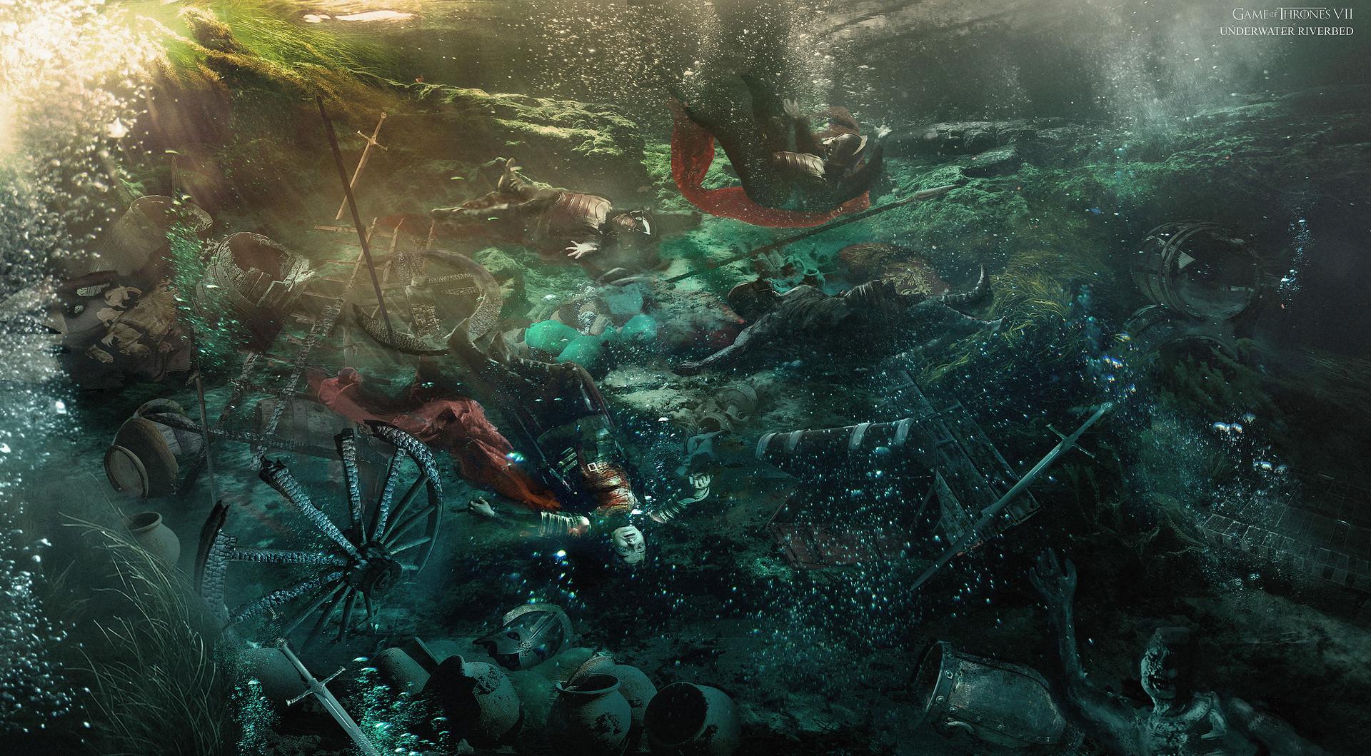 El ataque al convoy del botín Temporada 7 - 30 imágenes de Concept Art de Juego de Tronos Sorprendentes