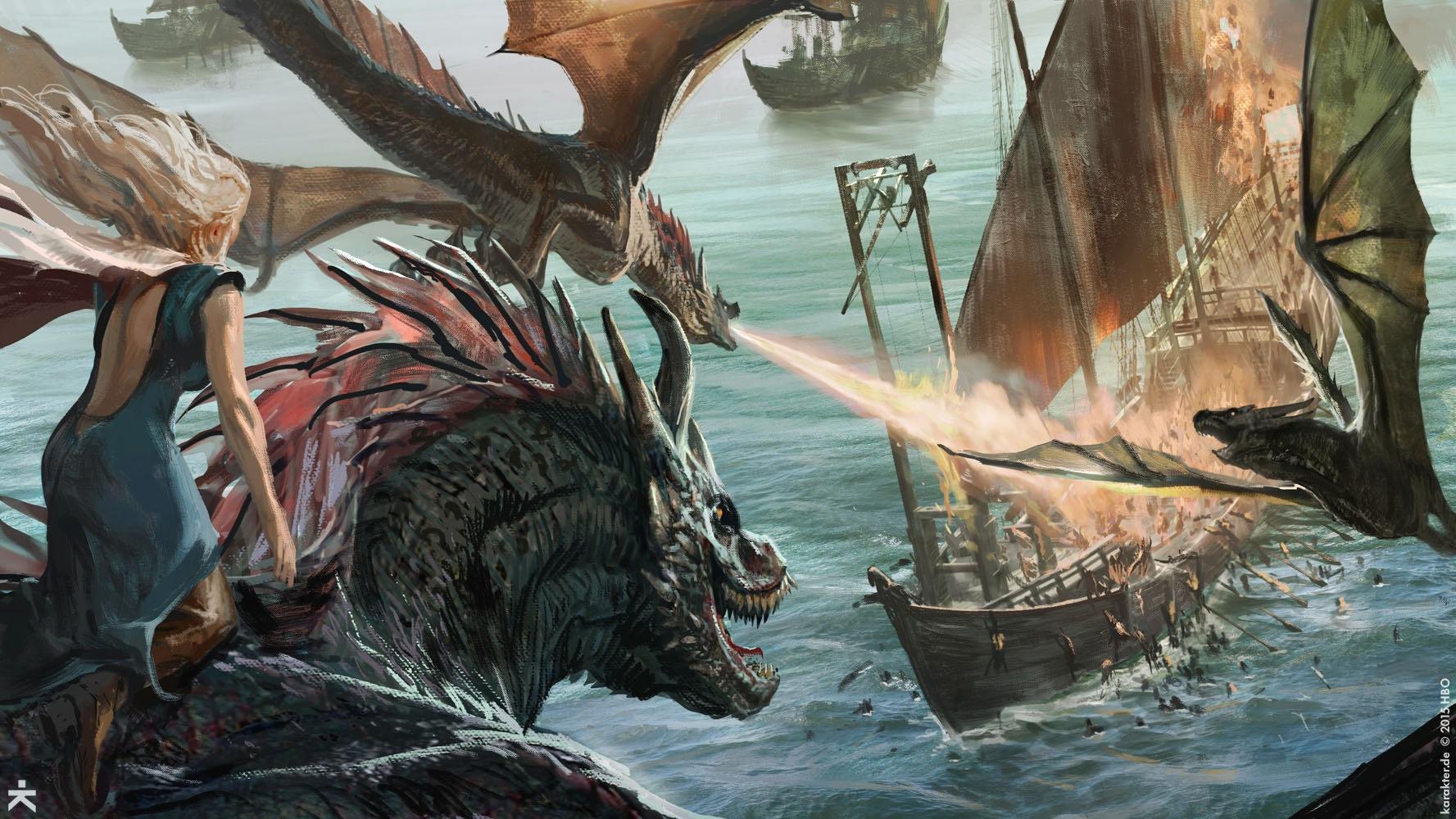 La Batalla de Meereen Temporada 6 - 30 imágenes de Concept Art de Juego de Tronos Sorprendentes