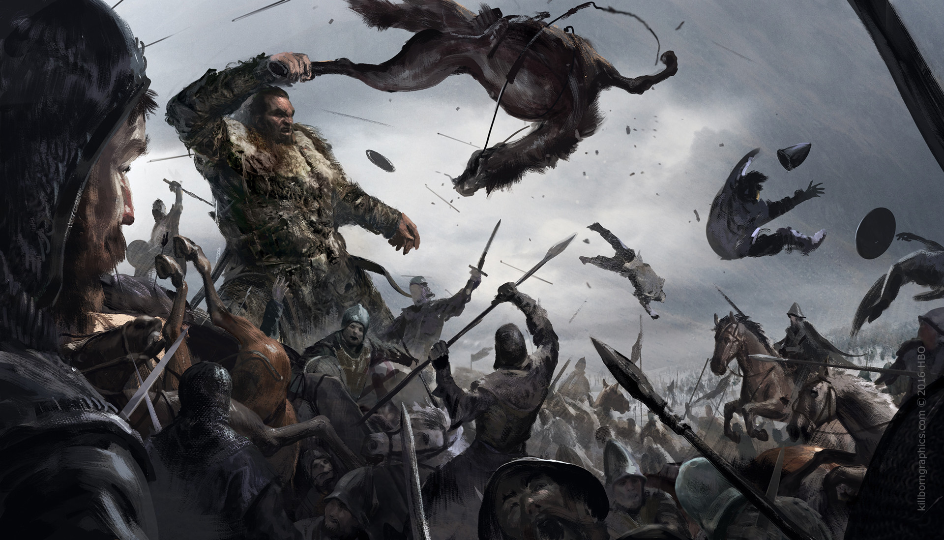 La Batalla de los Bastardos Temporada 6 - 30 imágenes de Concept Art de Juego de Tronos Sorprendentes