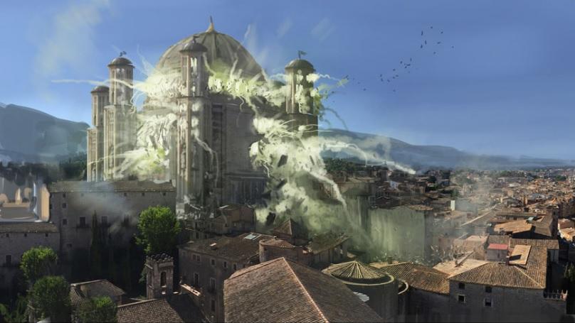 La venganza de Cersei Temporada 6 - 30 imágenes de Concept Art de Juego de Tronos Sorprendentes