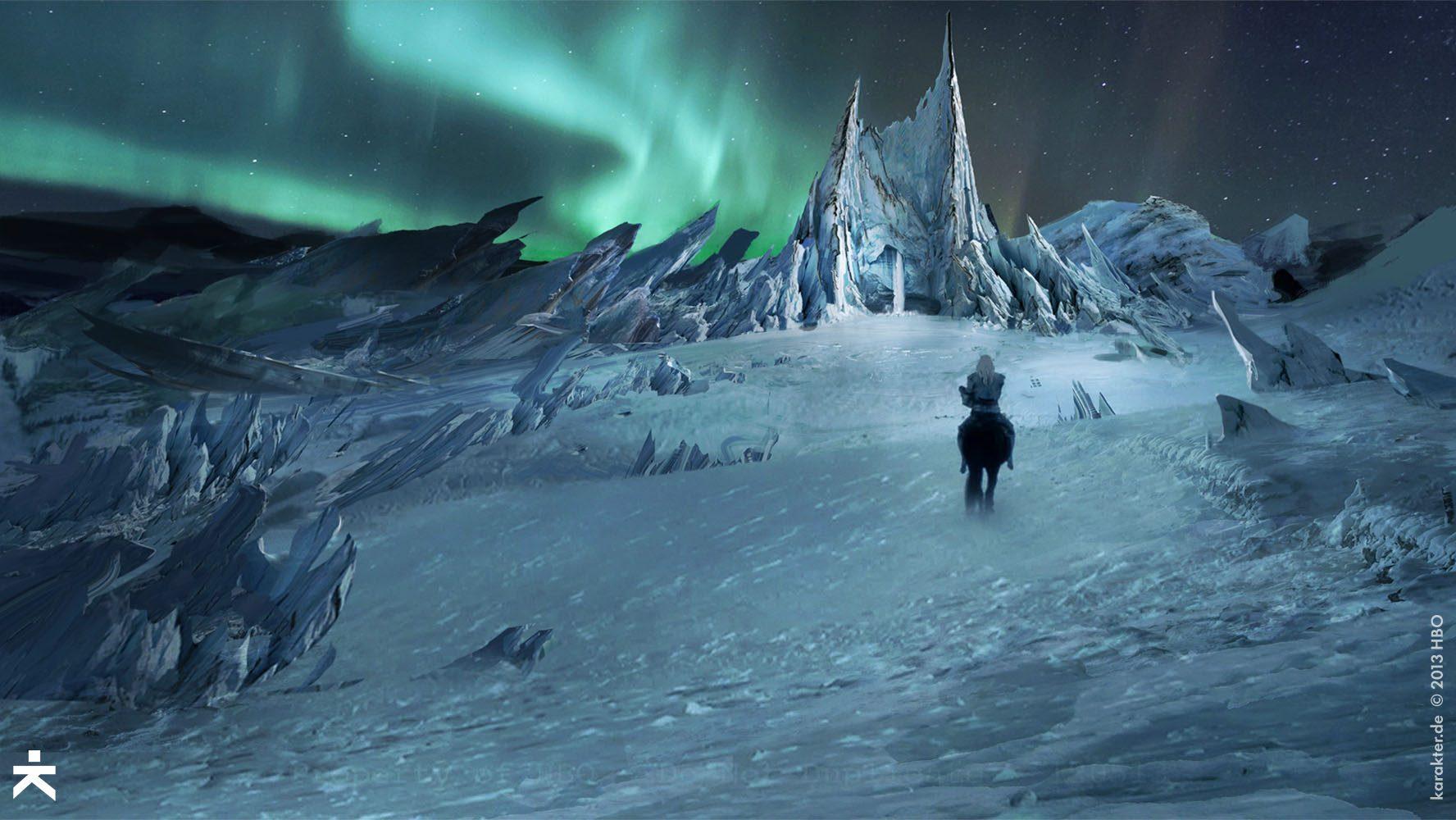 Más allá del Muro Temporada 4 - 30 imágenes de Concept Art de Juego de Tronos Sorprendentes