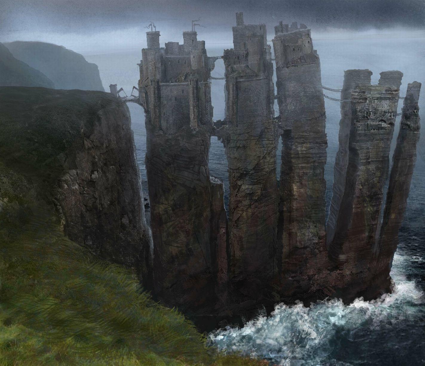 Pyke Las Islas de Hierro Temporadas 1 y 2 - 30 imágenes de Concept Art de Juego de Tronos Sorprendentes