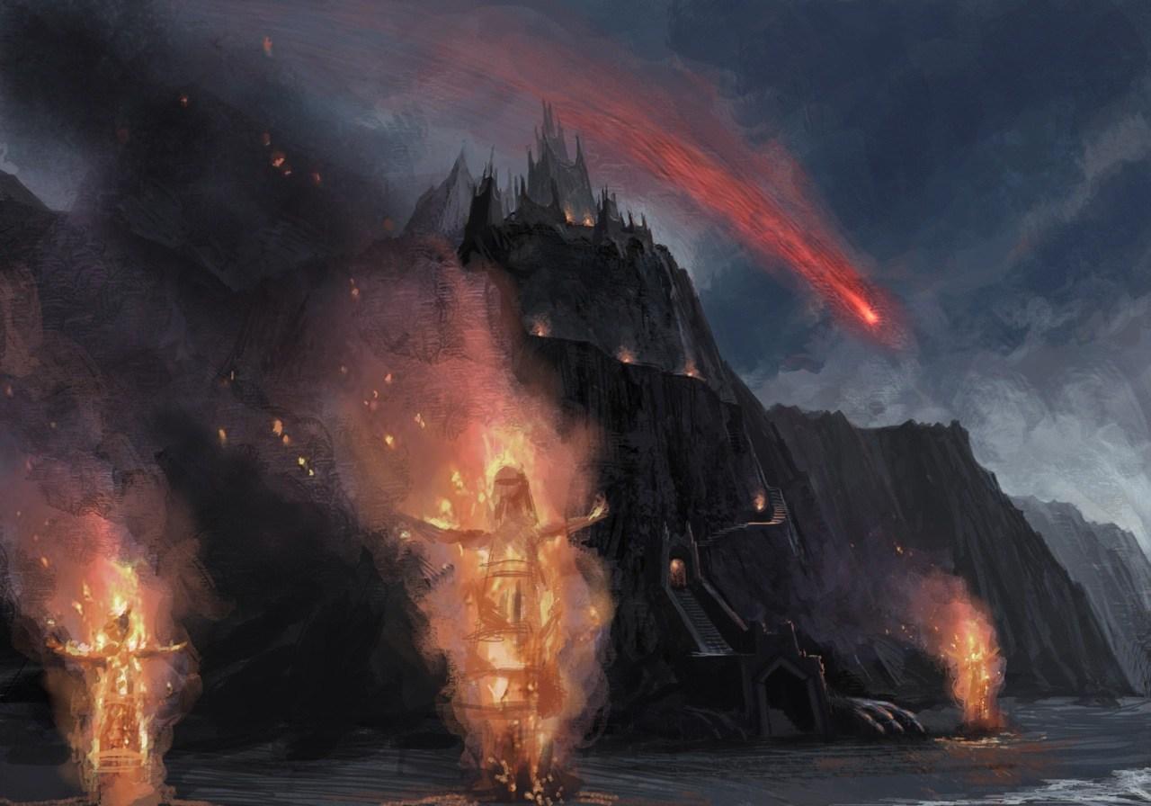 Rocadragón Temporadas 1 y 2 - 30 imágenes de Concept Art de Juego de Tronos Sorprendentes
