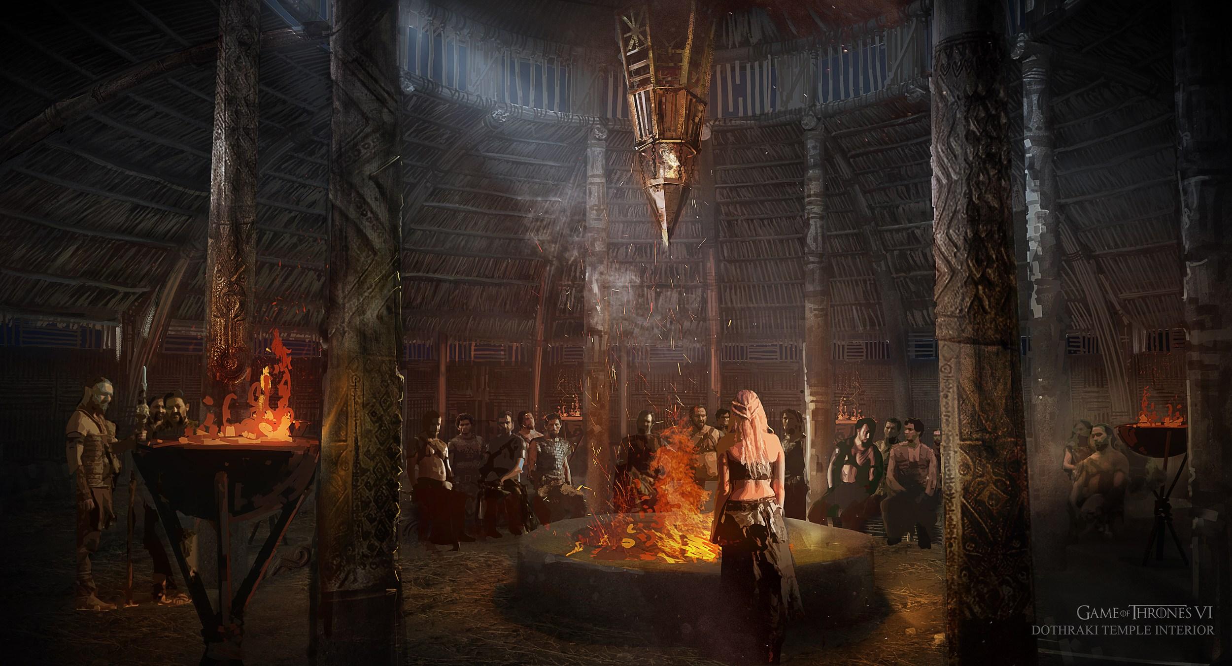 Vaes Dothrak Temporada 6 - 30 imágenes de Concept Art de Juego de Tronos Sorprendentes
