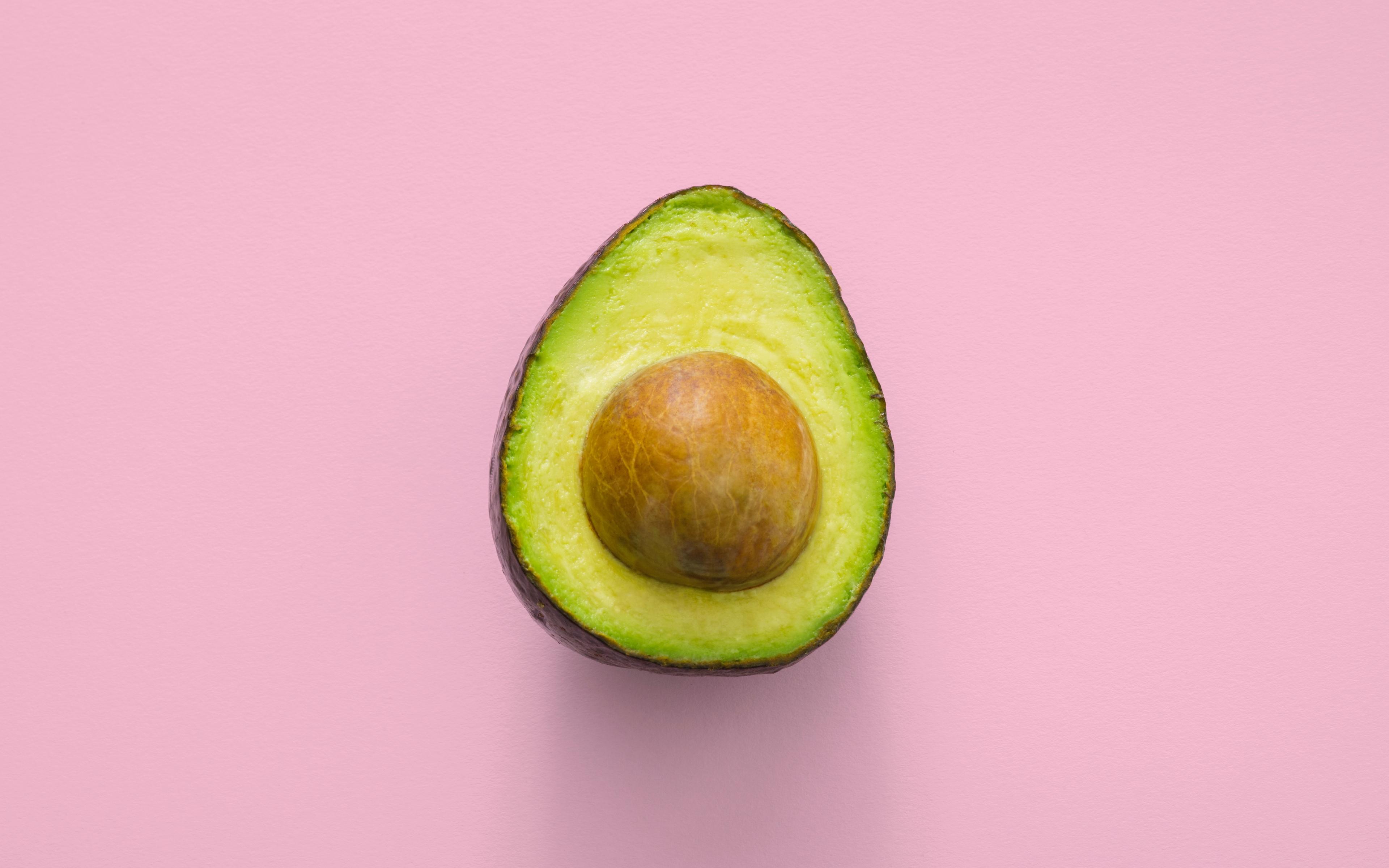 avocado minimalism pink 120543 3840x2400 - Tendencias Diseño Gráfico 2019