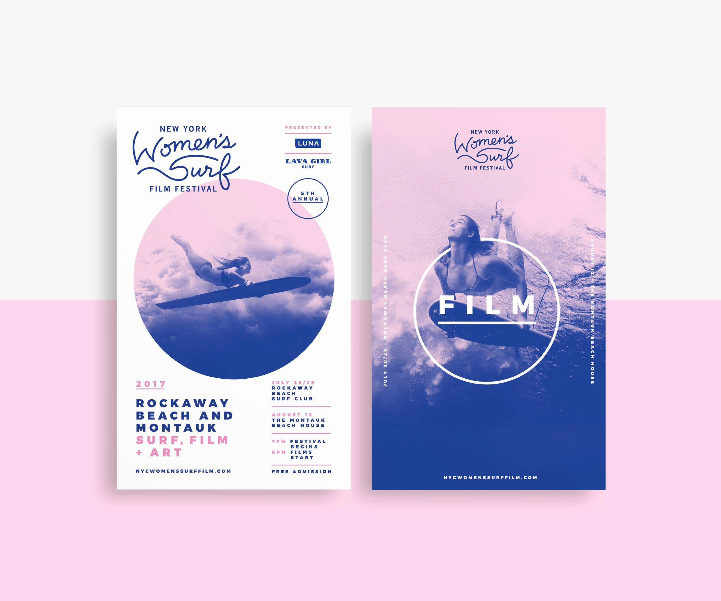 brand identity design nyc fresh brand identity new york women s surf festival of brand identity design nyc - Tendencias Diseño Gráfico 2019