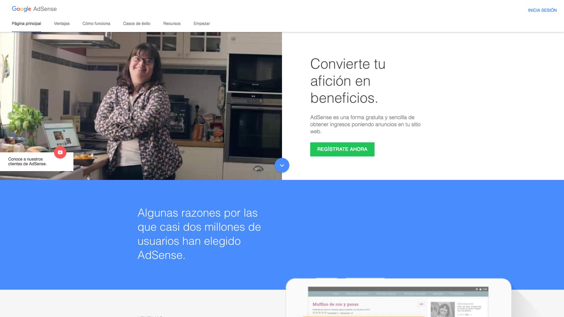 Google AdSense - 9 Formas de ganar dinero, sin dejar tu trabajo