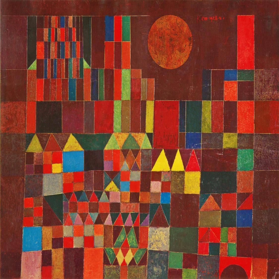 Paul Klee Castillo y Sol 1928 e1552534761917 - 100 Años de la Bauhaus